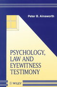 Psychology, Law and Eyewitness Testimony 1st edition 9780471982388 0471982385