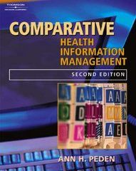 Comparative Records for Health Information Management 2nd edition 9781401839482 1401839487