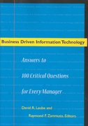 Business Driven Information Technology 1st edition 9780804749435 0804749434