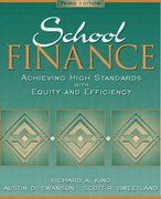 School Finance 3rd edition 9780205354986 020535498X