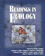 Readings in Ecology 1st Edition 9780195133097 0195133099