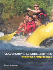 Leadership in Leisure Services 3rd Edition 9781892132697 1892132699