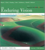 The Enduring Vision 5th edition 9780618473847 061847384X