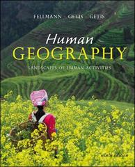 Human Geography 9th edition 9780072827651 0072827653
