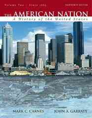 The American Nation 13th edition 9780205568109 0205568106