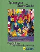 Telecourse Study Guide to accompany Psychology: The Human Experience 3rd edition 9780716755241 0716755246