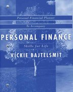 Student Financial Planner to accompany Personal Finance 1st edition 9780471703495 0471703494