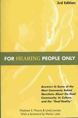 For Hearing People Only 3rd Edition 9780963401632 0963401637