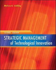 Strategic Management of Technological Innovation 2nd edition 9780073210582 0073210587