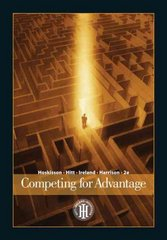 Competing for Advantage 2nd Edition 9780324316667 0324316666