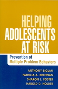 Helping Adolescents at Risk 1st Edition 9781593852399 1593852398