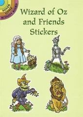 Wizard of Oz and Friends Stickers 0 9780486296616 048629661X