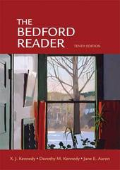 The Bedford Reader 10th Edition 9780312472047 0312472048