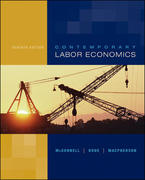 Contemporary Labor Economics 7th edition 9780072978605 0072978600