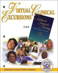 Virtual Clinical Excursions 1.0 to Accompany Medical-Surgical Nursing 6th edition 9780323026932 0323026931