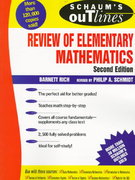 Schaum's Outline of Review of Elementary Mathematics 2nd edition 9780070522794 0070522790