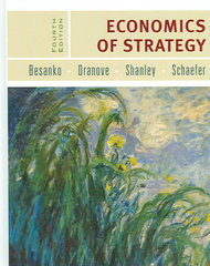 Economics of Strategy 4th Edition 9780471679455 0471679453