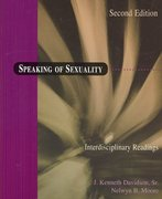 Speaking of Sexuality 2nd edition 9780195330496 0195330498