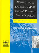 Conducting a Successful Major Gifts and Planned Giving Program 1st edition 9780787957070 0787957070