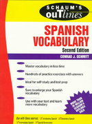 Schaum's Outline of Spanish Vocabulary 2nd edition 9780070572270 0070572275