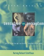 Sensation and Perception 5th edition 9780471249306 0471249300