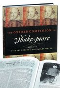 The Oxford Companion to Shakespeare 0 9780198117353 0198117353