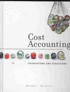 Cost Accounting 7th edition 9780324560558 0324560559