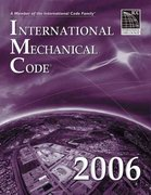2006 International Mechanical Code 1st edition 9781580012560 1580012566