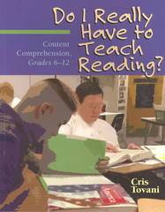 Do I Really Have to Teach Reading? 1st Edition 9781571108975 1571108971