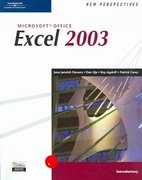 New Perspectives on Microsoft Office Excel 2003, Introductory 1st edition 9780619206642 0619206640