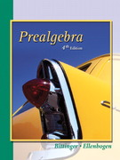 Prealgebra 4th edition 9780321132253 0321132254