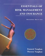 Essentials of Risk Management and Insurance 2nd edition 9780471233336 0471233331