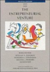The Entrepreneurial Venture 2nd edition 9780875848921 0875848923