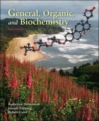 General, Organic and Biochemistry 6th edition 9780077221416 0077221419