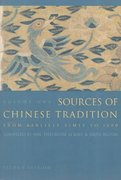 Sources of Chinese Tradition 2nd Edition 9780231109390 0231109393