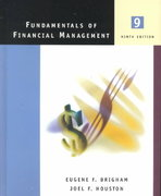 Fundamentals of Financial Management 9th edition 9780030289316 0030289319