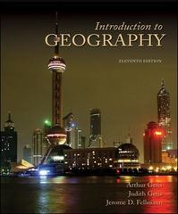 Introduction to Geography 11th Edition 9780073051260 0073051268