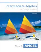 Intermediate Algebra for College Students 6th edition 9780131400597 0131400592