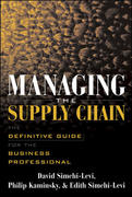 Managing the Supply Chain 1st edition 9780071410311 0071410317