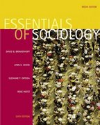 Essentials of Sociology (with InfoTrac ) 6th edition 9780534626761 0534626769