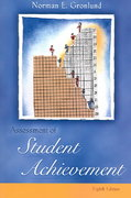 Assessment of Student Achievement 8th Edition 9780205457274 0205457274