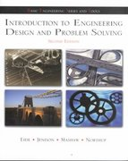 Introduction To Engineering Design and Problem Solving 2nd edition 9780072402216 0072402210