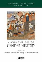 A Companion to Gender History 1st edition 9781405149600 1405149604