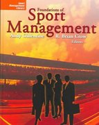 Foundations of Sport Management 0 9781885693617 1885693613