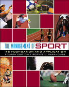 The Management of Sport 4th Edition 9780072985467 0072985461