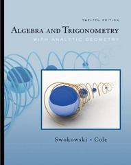 Algebra and Trigonometry with Analytic Geometry (with CengageNOW Printed Access Card) 12th edition 9780495108269 049510826X