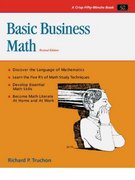 Crisp: Basic Business Math, Revised Edition 2nd edition 9781560524489 1560524480