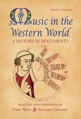 Music in the Western World 2nd edition 9780534585990 053458599X
