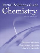 Solutions Guide for Zumdahl/Zumdahl's Chemistry, 5th 5th edition 9780395985885 0395985889