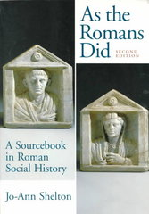 As The Romans Did 2nd Edition 9780195089745 019508974X